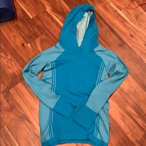 Athleta hooded base layer top